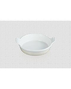 Le Creuset ronde ovenschaal ø 24 cm aardewerk Meringue