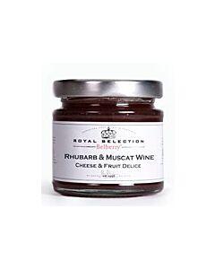 Oldenhof Belberry rabarber & muskaatwijn kaasbegeleider 130 gram