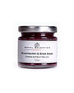 Oldenhof Belberry framboos & steranijs kaasbegeleider 130 gram