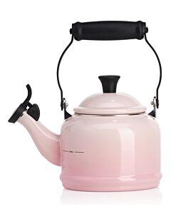 Le Creuset Demi fluitketel 1,1 liter staal Shell Pink