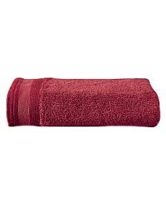 De Witte Lietaer Excellence handdoek 60 x 40 cm katoen ruby red