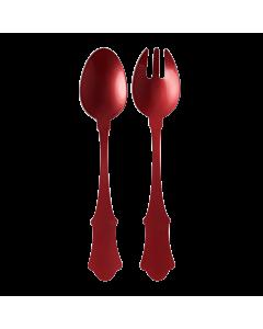 Sabre Old Fashioned slacouvert 25 cm kunststof Red 2-delig