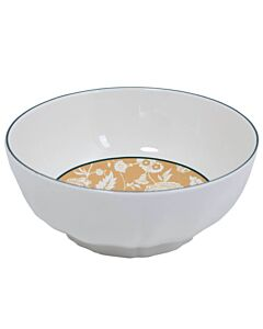 Gien Dominoté serveerschaal ø 21,3 cm h 8,5 cm keramiek