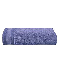 De Witte Lietaer Excellence handdoek 60 x 40 cm katoen sapphire blue