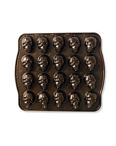 Nordic Ware Skull Bitelets 20 schedels aluminium