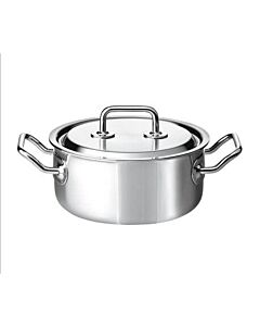 Spring Brigade Premium braadpan met rvs deksel ø 24 cm rvs