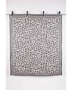 by TextielMuseum plaid Studio Job - Insects 145 x 130 cm grijs