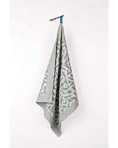 by TextielMuseum droogdoek Studio Job - Insect Pattern 66 x 63 cm katoen groen