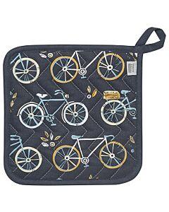 Now Designs Sweet Ride pannenlap 20 x 20 cm katoen blauw