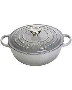 Le Creuset wok-braadpan 4,1 liter ø 26 cm gietijzer mist grey