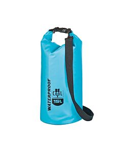 Be Cool Tube Cooler Waterproof koeltas 15 liter blauw