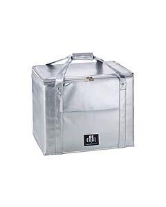 Be Cool City Shopper XXL koeltas 45 liter zilver