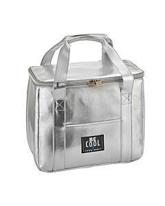 Be Cool City Shopper M koeltas 16,5 liter zilver