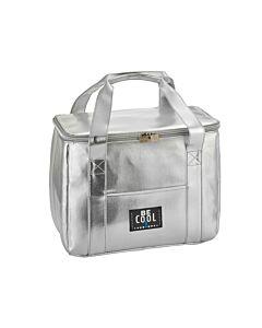 Be Cool City Shopper S koeltas 10 liter zilver