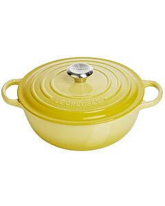 Le Creuset wok-braadpan 4,1 liter ø 26 cm gietijzer soleil