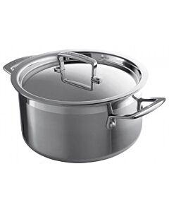 Le Creuset Magnetik lage kookpan ø 24 cm rvs