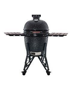 The Bastard Model 2021 Large Compleet barbecue keramiek zwart