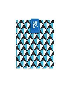 by Roll'eat Boc'n'Roll herbruikbaar boterhamzakje 44,5 x 29,5 cm polyester Blue