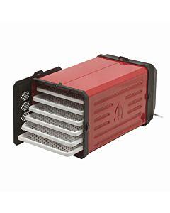 Tre Spade Atacama Pro droogmachine 50 cm staal rood