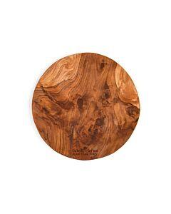Bowls and Dishes Pure Teak Wood boomstam met handgrepen ø 30 cm