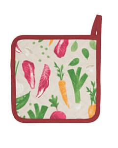 Now Designs Veggies pannenlap 20 x 20 cm katoen