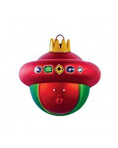 Alessi Le Palle Presepe 'Baldassarre' kerstbal gekleurd