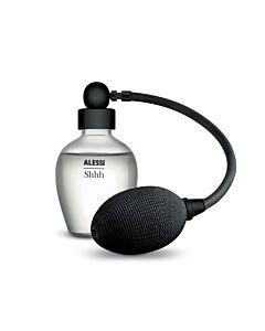 Alessi The Five Seasons geurverstuiver Shhh ø 6,5 cm h 11 cm glas/zamak zwart