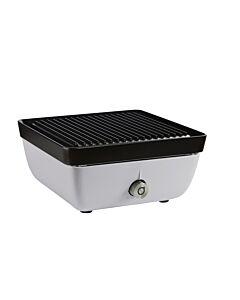Ferleon Patio Cooker met grillplaat zijdegrijs 2-delig