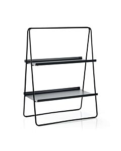 Zone Denmark A-Table bijzettafel 53 x 29 x 75 cm metaal zwart