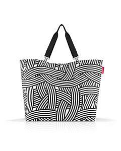 Reisenthel Shopper XL boodschappentas 68 x 20 cm polyester Zebra
