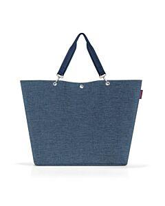 Reisenthel Shopper XL boodschappentas 68 x 20 cm polyester Twist Blue