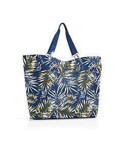 Reisenthel Shopper XL boodschappentas 68 x 20 cm polyester Jungle Space Blue