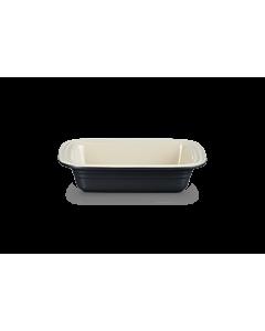 Le Creuset ovenschaal met brede rand 31 cm aardewerk mat zwart