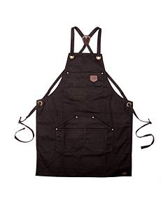 Alaskan Maker N°515 schort katoen zwart