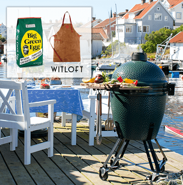 Big Green Egg actie