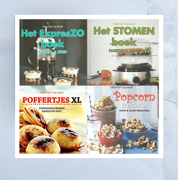 Gratis kookboekenpakket