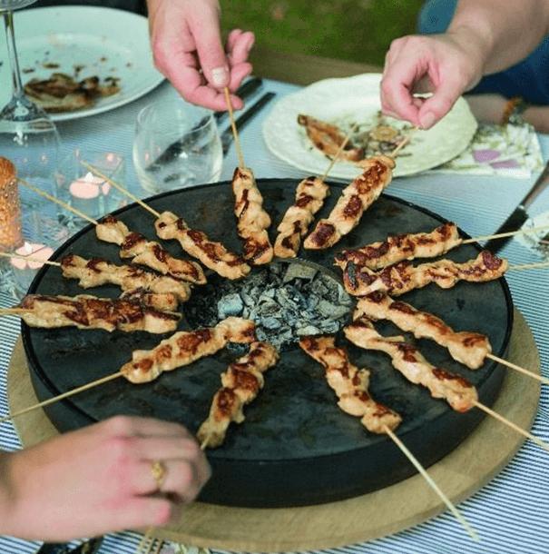 Gourmetten voorbij