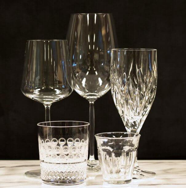 Glas, kristal en kristalglas - kookwinkelblog