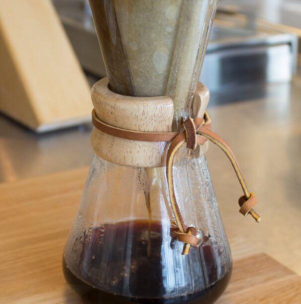 Slowcoffee met Chemex