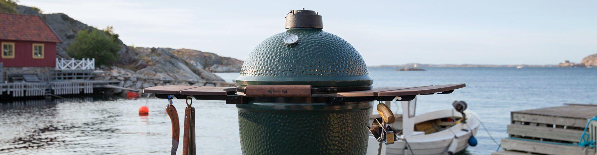 Big green egg barbecue header