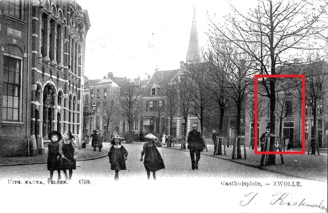 Gasthuisplein in Zwolle