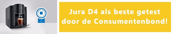 JURA D4 als beste getest