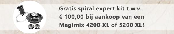 Magimix 4200 5200 XL + spiral expert kit