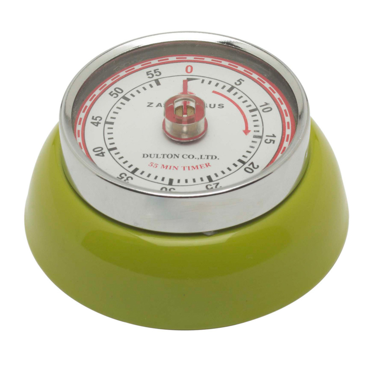 Zassenhaus Timer Speed kookwekker ø 7 cm metaal lime