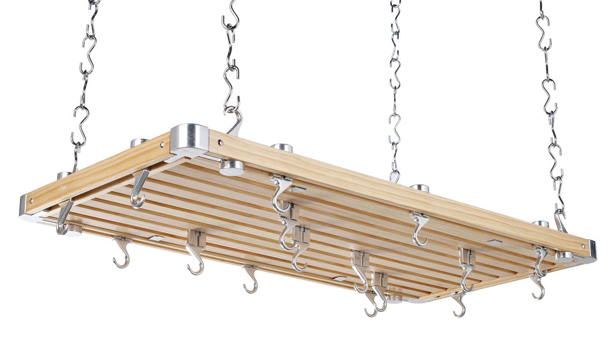 Hahn pannenrek 100 x 52 cm hout naturel