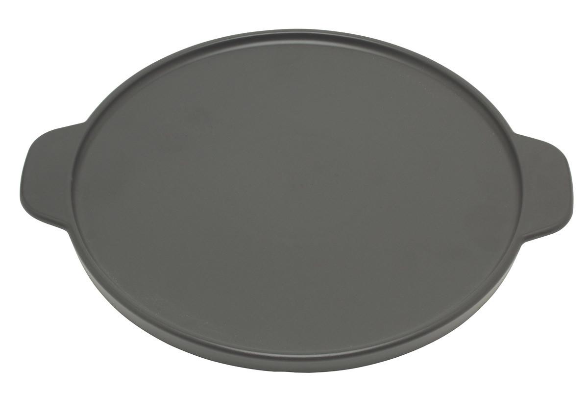 Terre Étoilée pizzasteen ø 24 cm aardewerk zwart