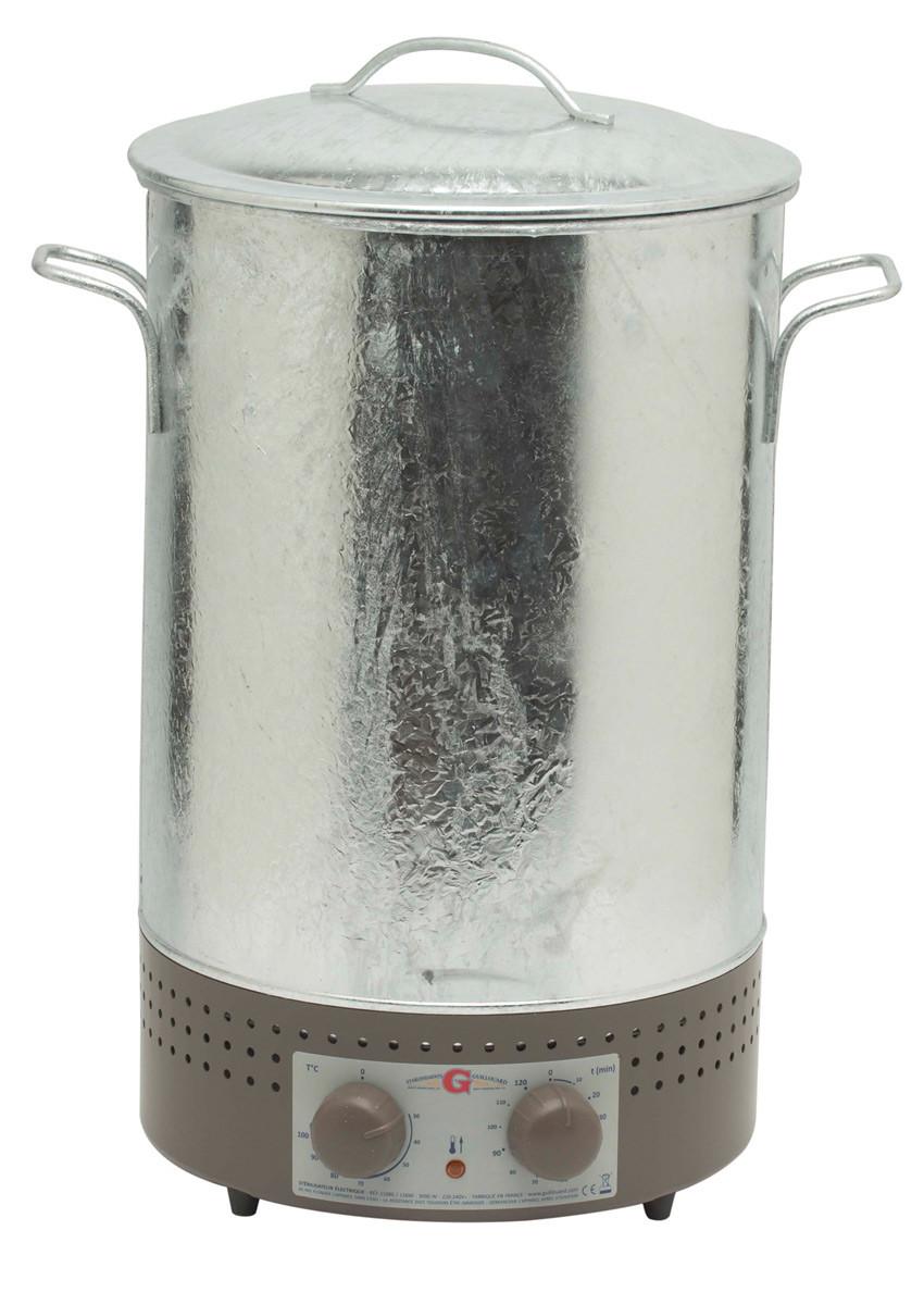 Verwonderend Nogent Guillouard elektrische weckketel 30 liter zink - Kookwinkel HC-54