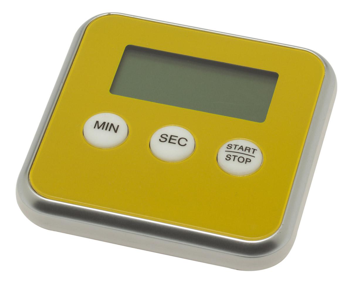 Maverick digitale kookwekker 8 cm geel