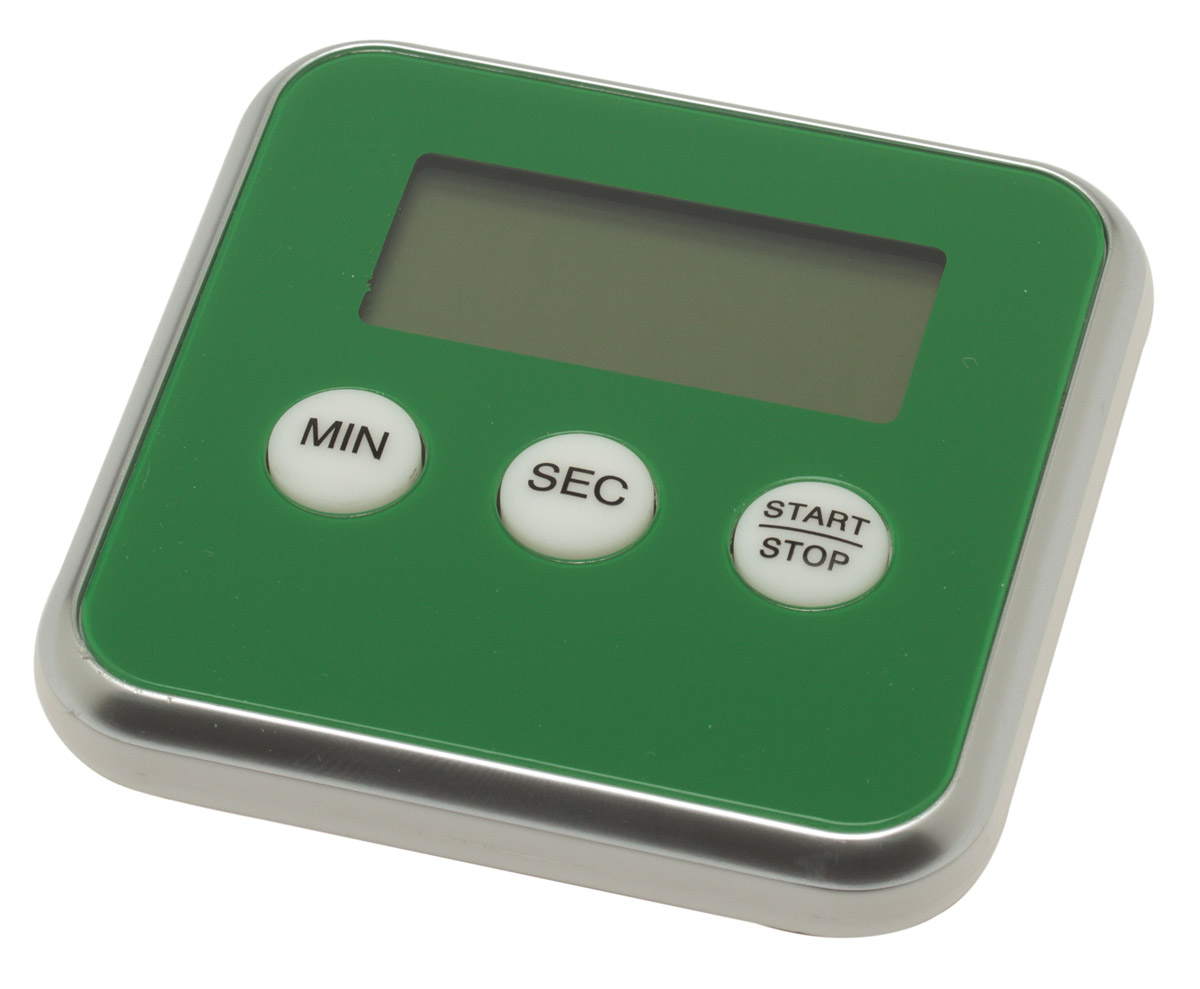 Maverick digitale kookwekker 8 cm groen