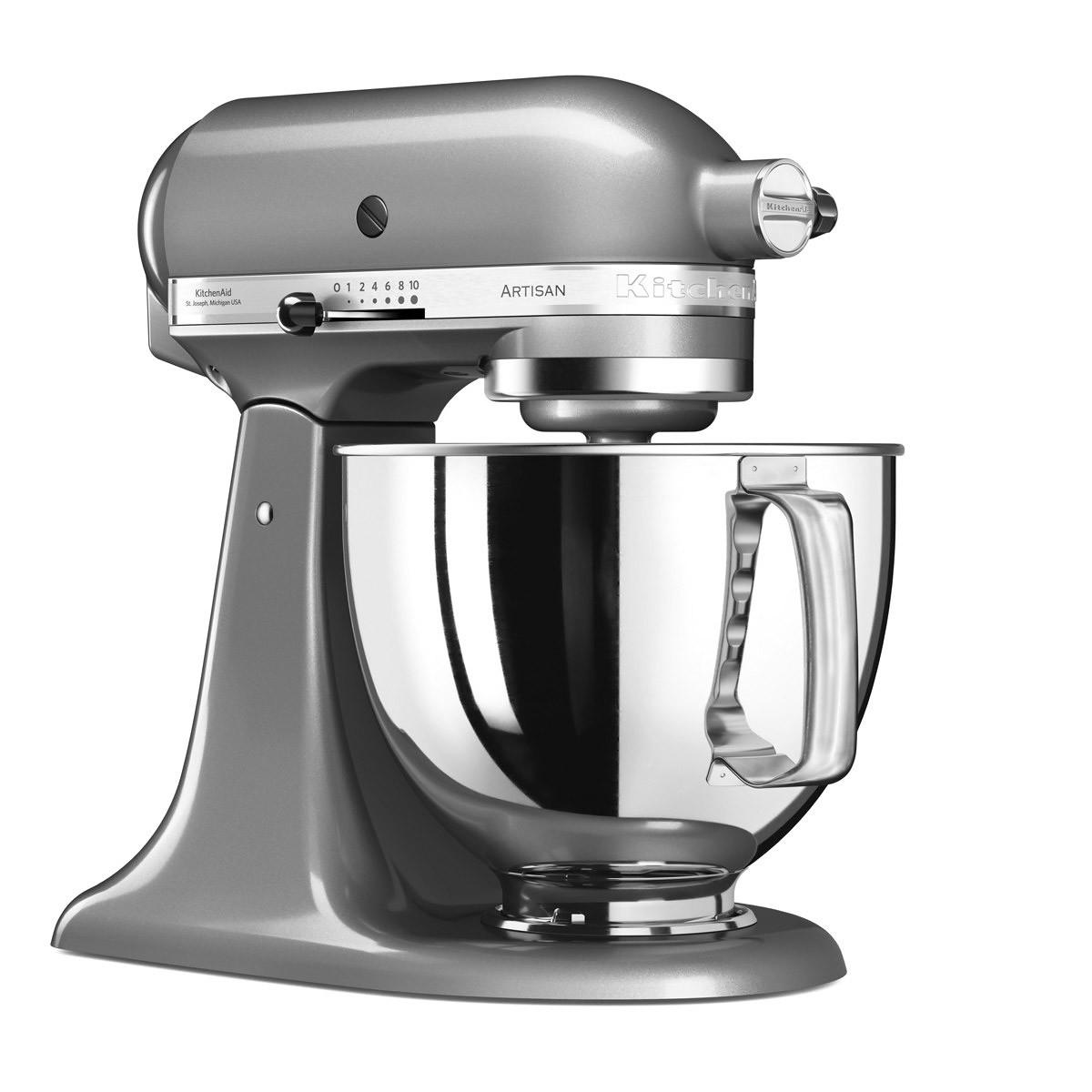 KitchenAid Artisan Original standmixer 4,8 liter Contour Silver